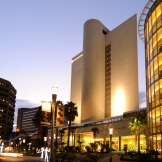 Sandton Business district at night - copyright Wright Photographic