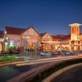 Grey Owl shopping centre at night - copyright Wright Photographic