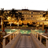 Polana Hotel at night - copyright Wright Photographic