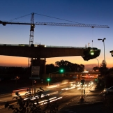 Sunset at Viaduct 5, Jean ave, Pretoria - copyright Wright Photographic