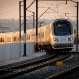 Gautrain at Rhodefield Station - copyright Wright Photographic