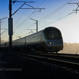 Gautrain on test cycle, The Depot test track - copyright Wright Photographic