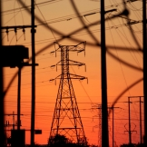 Electrical Sunset - copyright Wright Photographic
