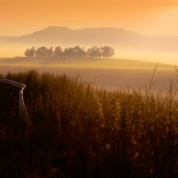 Sunrise near Ficksburg - copyright Wright Photographic