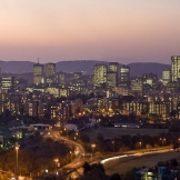 Pretoria Skyline - copyright Wright Photographic