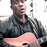 Busker, Johannesburg - copyright Wright Photographic