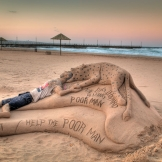 Sand Castles, Durban Beach Front - copyright Wright Photographic