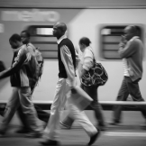 Commuters, Park Station - copyright Wright Photographic