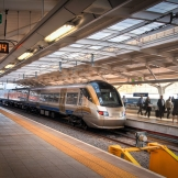 Gautrain, OR Tambo airport - copyright Wright Photographic