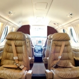 King Air Interior - copyright Wright Photographic