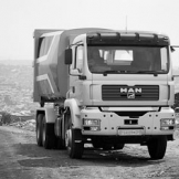 MAN waste removal truck - copyright Wright Photographic